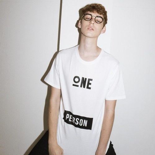"""全サイズ再入荷""ONEPERSON T-SHIRTS[WHITE]"