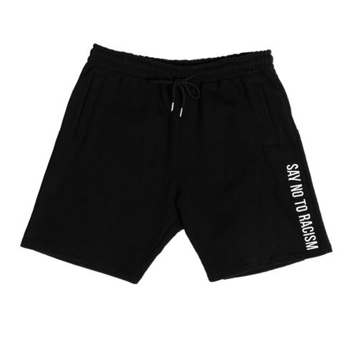 ANTIRACISM HALFSWEATPANTS[BLACK]